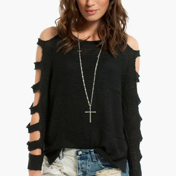 Right or Rung Sweater $34