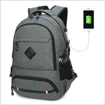 New Casual Male Backpacks for College Students Backpack for Notebook Bag Men Backpack Schoolbag Canvas Bag / by dhl 10pcs