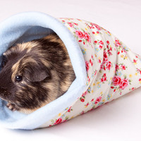 Cottage Rose Snuggle Pocket for guinea pigs, rats, hedgehogs, degus, hamsters, gerbils and other small animals.
