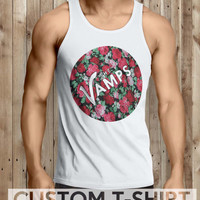 The Vamps Band Floral Men Tanktop - tri1 Tanktop For Men  / Custom - Tanktop / Men Tanktop