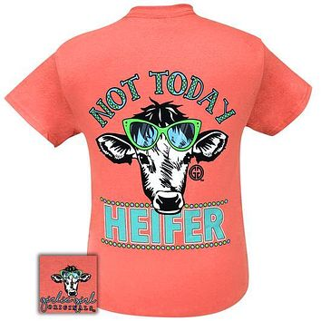 Girlie Girl Originals Preppy Not Today Heifer T-Shirt
