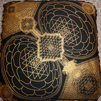 Sacred Geometry Bandanas Wall Art - Sacred Time and Space