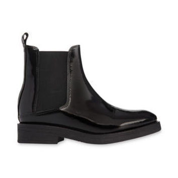 Rubber Sole Chelsea Boot