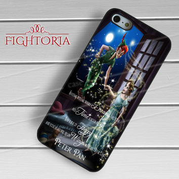Tinkerbell quotes peter pan - zz3zz for iPhone 6S case, iPhone 5s case, iPhone 6 case, iPhone 4S, Samsung S6 Edge