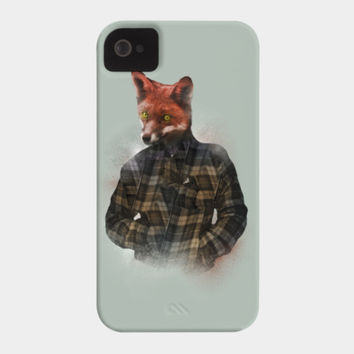 Blizzard Fox Phone Case By Daniacdg Design By Humans