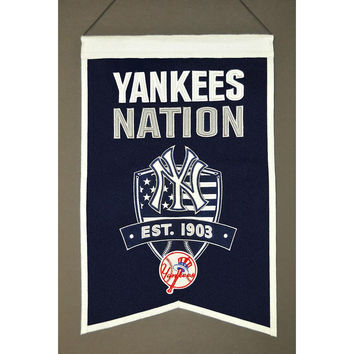 New York Yankees MLB Nations Banner (15x20)