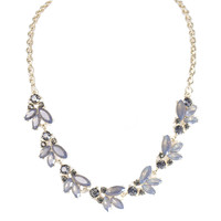 Royal Nightfall Gold Necklace