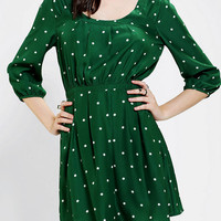 Urban Outfitters - Cooperative Silky Keyhole-Back Dress