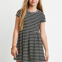Ribbed Stripe Dress (Kids)