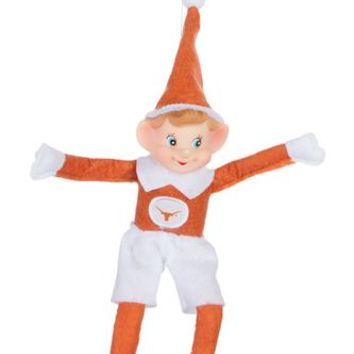 Longhorn Elf on a Shelf Ornament & Figurine