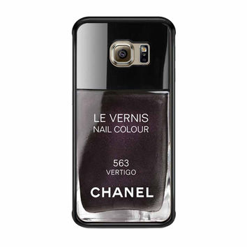 Chanel Vertigo Case Samsung Galaxy S6 Edge Case