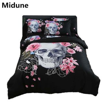 Cool Hot New 3D Digital Printed Football Bedding Sets Duvet Cover+Pillowcase Bedspread Queen King size EU/CN/US skull customized 3pcsAT_93_12