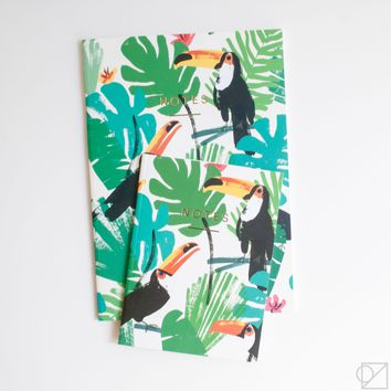 WRAP Toucans Notebooks