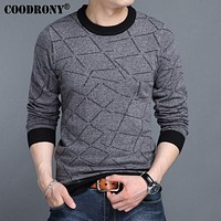 Winter New Arrival Pure Cashmere Woolen Sweater Men Clothing Casual O-Neck Knitwear Pullover Men