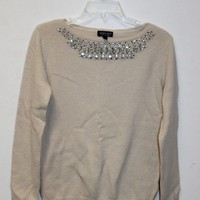Topshop Embellished Sweater