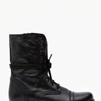 Troopa Combat Boot - Black