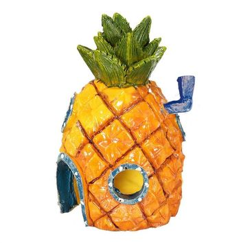 Spongebob Pineapple House Pineapple Home Ornament For Aquarium Fish Tank