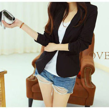Blazer Women Korean Suit Blazer Coat