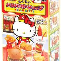 Hello Kitty Burger Shop Re-Ment miniature blind box - Re-Ment Miniature