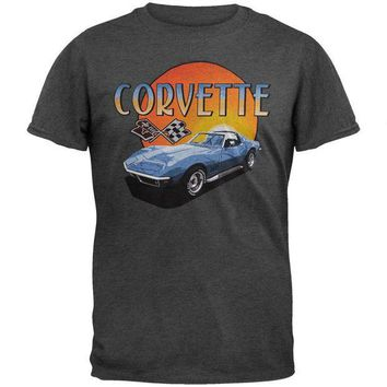 Corvette Sunset Soft T-Shirt