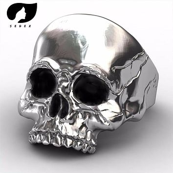 JEWELRY RING men jewelry Biker Skull  Unique Punk Men Cool Jewelry Vintage Streampunk Jewelry Motorcycle men ring
