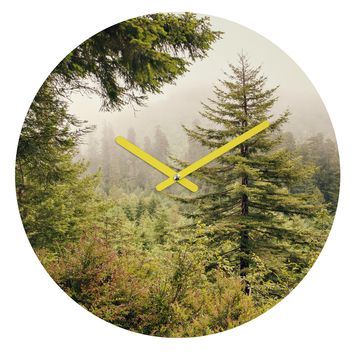 Catherine McDonald Into The Mist Round Clock
