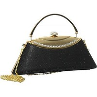 ''Shimmery Trapezoid'' Evening Clutch