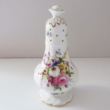 Hammersley vintage sugar sifter, Icing Sugar Sifter, Sugar shaker, Hammersley china, Howards Spray