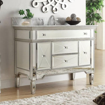 Mirrored Vanities - Easy Home Concepts