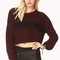 Relaxed Cropped Sweater