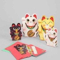 Lucky Cat Card Set - Assorted One