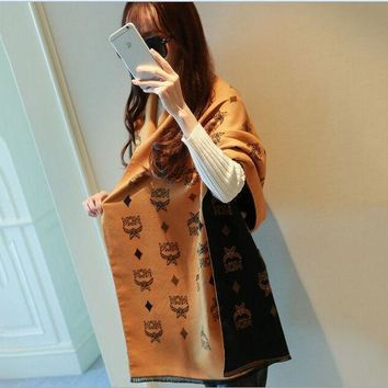 Lady Scarves Poncho 2017 Flowers And Letters Winter Scarf Women Printed Cashmere Scarf Luxury Brand Shawls And Scarves Pashmina