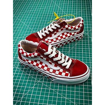 Vans Vault Og Style 36 Red White Shoes