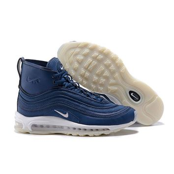 Best Online Sale Riccardo Tisci x Nike Air Max 97 Mid Dark Blue Sport Running Shoes