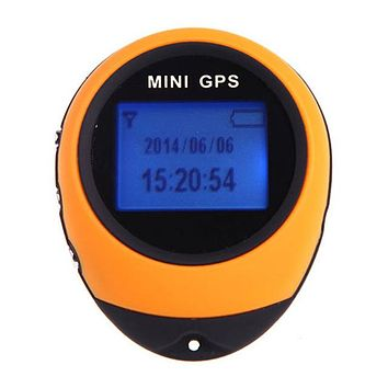 Mini GPS - Rechargeable Location Tracker Compass For Outdoor Travel