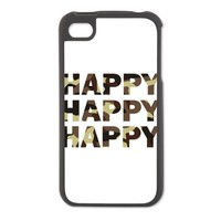 Happy Happy Happy Iphone 4/4S Switch Case on CafePress.com