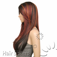 MODEL MODEL SYNTHETIC HAIR DEEP INVISIBLE PART LACE WIG PERLA