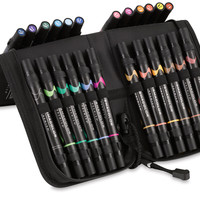 Prismacolor Premier Double-Ended Brush Tip Marker Sets - BLICK art materials