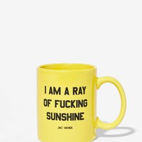 Jac Vanek Ray of Effing Sunshine Mug
