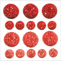 Sparklets Self-Adhesive Rhinestone Clusters-Rouge | Jo-Ann