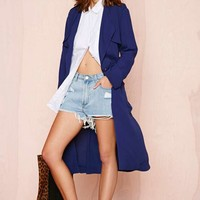 Line and Dot Blonde Ambition Soft Trench Coat