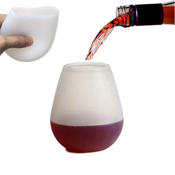 Silicone Unbreakable Wine Glasses