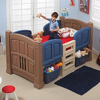 Step 2 Boy's Loft & Storage Twin Bed