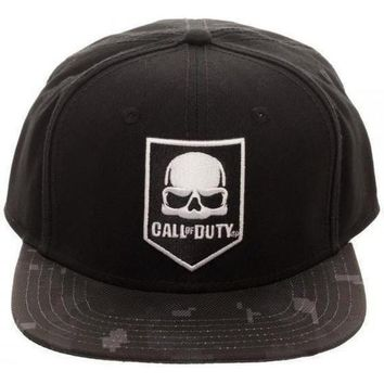 Call Of Duty Camo Bill Hat