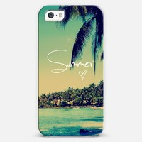 Summer Love Vintage Beach iPhone 5s case by Rex Lambo | Casetagram