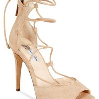 INC International Concepts Sabba Peep-Toe Lace-Up Pumps, Only at Macy's | macys.com