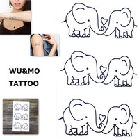 CH81 New Design Flash Tattoo Removable waterproof temporary tattoos Metallic Temporary Tattoo Stickers Temporary Body Art Tatoo