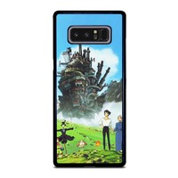 HOWL'S MOVING CASTLE Samsung Galaxy Note 8 Case Cover