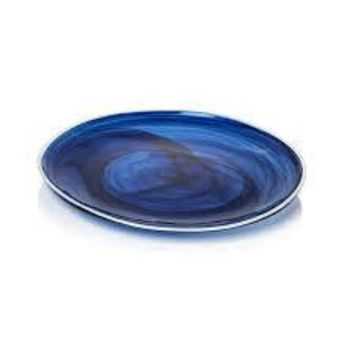 Decorative Glass Dinner Plates
