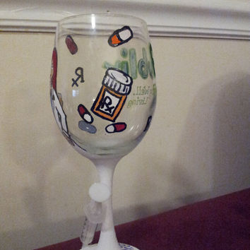 Occupation Wine Glass